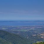 Vu du col de babaou - 416 m d'altitude par  - La Londe les Maures 83250 Var Provence France