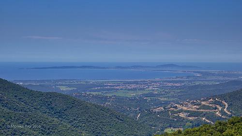Vu du col de babaou - 416 m d'altitude par moni-h