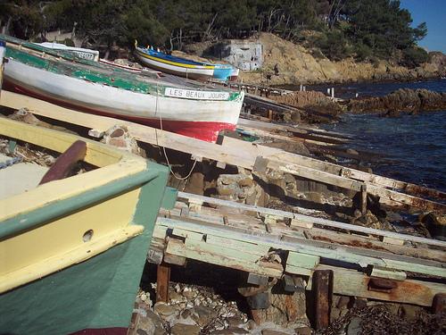 Bateaux de pêcheurs - La Seyne-sur-Mer, Var. par Only Tradition