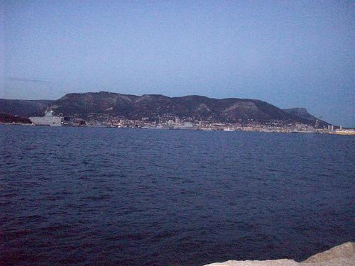 Toulon, vue depuis La Seyne-sur-Mer by Only Tradition