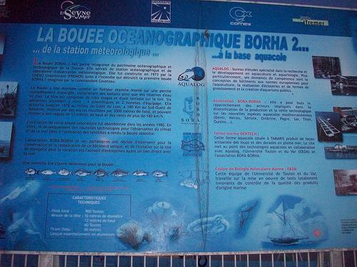 Bouée océanographique Borha 2, La Seyne-sur-Mer par Only Tradition