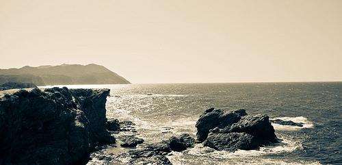 Ile du Petit Gaou : horyzon par Macré stéphane