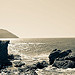 Ile du Petit Gaou : horyzon par Macré stéphane - Le Brusc 83140 Var Provence France