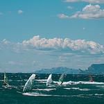 Mistral et Mer de surfeur par Macré stéphane - Le Brusc 83140 Var Provence France