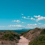 Sentier vers le large par Macré stéphane - Le Brusc 83140 Var Provence France