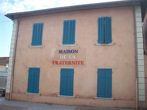 Maison de la Fraternité. Mairie annexe, Le Cannet des Maures, Var. by Only Tradition