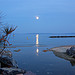Pleine lune / Full moon  par chris wright - hull - Le Lavandou 83980 Var Provence France