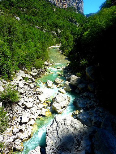 Le torrent du Verdon by nic( o )