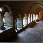 Abbaye du Thoronet : le cloitre par J@nine - Le Thoronet 83340 Var Provence France