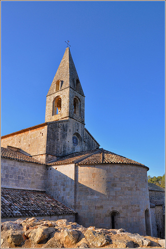 Abbaye du Thoronet - Var by Charlottess