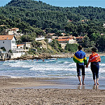 Plage des Baumelles : Take a walk... par  - Les Baumelles 83270 Var Provence France