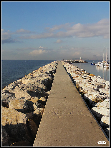 Jetée du Port des Lecques par korynimages1