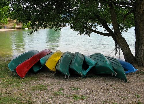Kayac - au bord du Lac de Ste Croix by mistinguette18