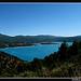 Vue sur le lac de Sainte-Croix by Sylvia Andreu - Les Salles sur Verdon 83630 Var Provence France