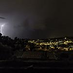 Derniers éclairs d'orage sur Ollioules par Par Jl Balesi - Ollioules 83190 Var Provence France