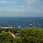 Panorama - Ile de Porquerolles par chris wright - hull - Porquerolles 83400 Var Provence France
