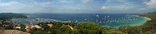 Panorama - Ile de Porquerolles par chris wright - hull