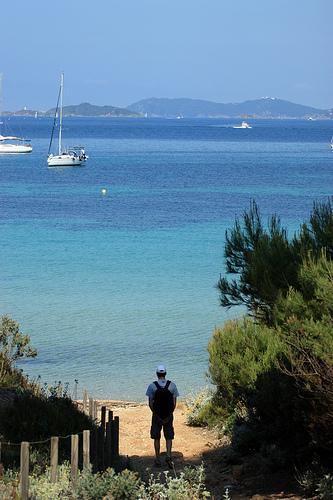 Bleu de porquerolles : Île de Porquerolles by Carine.C