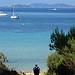 Bleu de porquerolles : Île de Porquerolles par Carine.C - Porquerolles 83400 Var Provence France