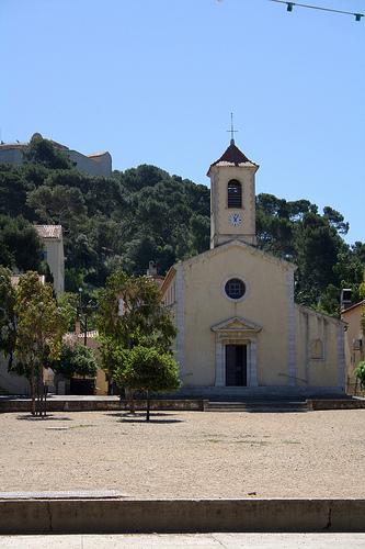 Eglise de Porquerolles par Anhariel