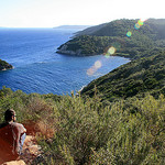 Port-Cros : Plage de la Palud et Rocher du Rascas by Seb+Jim - Port Cros 83400 Var Provence France