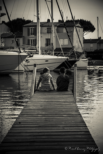 Rencontre à Port Grimaud - France by moudezoreil
