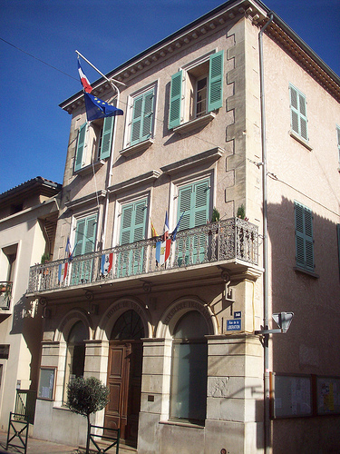 Hôtel de Ville, Puget-Ville, Var. by Only Tradition