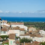 La côte d'azur vue depuis Ramatuelle by GUY DUBLET - Ramatuelle 83350 Var Provence France