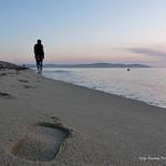 Promenade sur le sable par Niouz - Ramatuelle 83350 Var Provence France