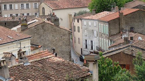 Les toits de Ramatuelle par Verlink