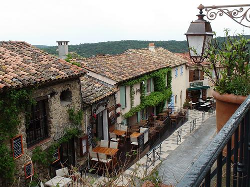 les toits de Ramatuelle, Provence par Verlink