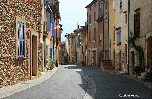 Regusse Street, Provence, France by saraharris.sh64