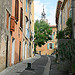 Up The Street, Regusse, Provence by  - Regusse 83630 Var Provence France