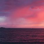 Ciel rose de Sanary-sur-Mer by  - Sanary-sur-Mer 83110 Var Provence France