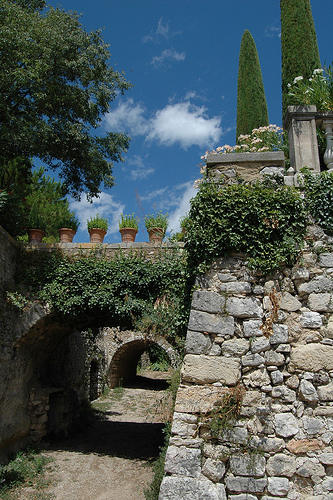 village de Seillons Source d'Argens par M.Andries