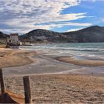 La plage de sable de Saint-Cyr-sur-Mer par  - St. Cyr sur Mer 83270 Var Provence France