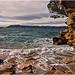 Mer agitée sur la plage de Saint Cyr sur Mer par Charlottess - St. Cyr sur Mer 83270 Var Provence France