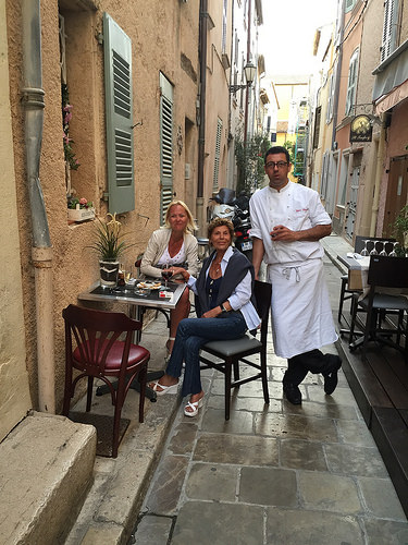 Restaurant L'Aventure de Saint Tropez par loderer_a