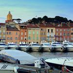 Port bien rempli de Saint-Tropez par krissdefremicourt - St. Tropez 83990 Var Provence France