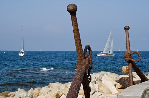Voiliers en Méditerranée par cpqs
