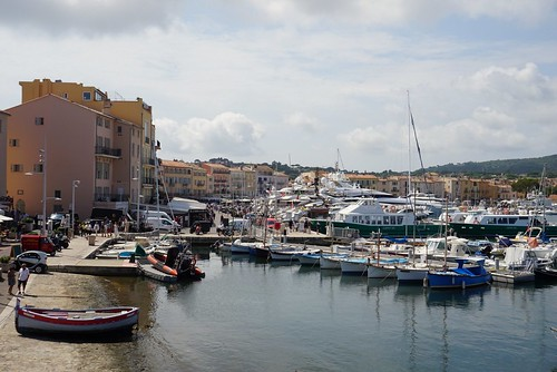 Le port de St Tropez by Marc Bouzon