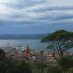 Bay of St-Tropez seen from the old citadel by Sokleine - St. Tropez 83990 Var Provence France