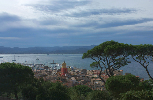 Bay of St-Tropez seen from the old citadel par Sokleine