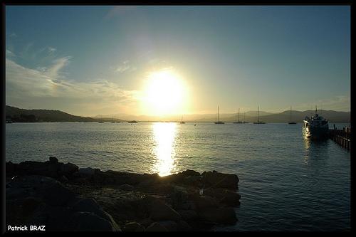 Fin de journée à Saint-Tropez by Patchok34