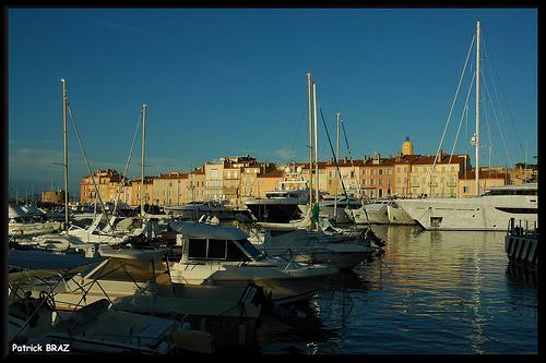 Le port de Saint-Tropez by Patchok34