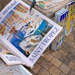 Prints for sale around the harbor - Saint-Tropez par Belles Images by Sandra A. - St. Tropez 83990 Var Provence France