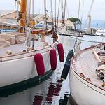 Saint Tropez - Sail boats by Belles Images by Sandra A. - St. Tropez 83990 Var Provence France
