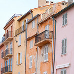 Saint Tropez old town by Belles Images by Sandra A. - St. Tropez 83990 Var Provence France
