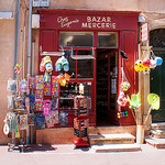 Typical Saint Tropez - Bazar Mercerie  by Belles Images by Sandra A. - St. Tropez 83990 Var Provence France