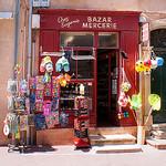 Typical Saint Tropez - Bazar Mercerie  par Belles Images by Sandra A. - St. Tropez 83990 Var Provence France